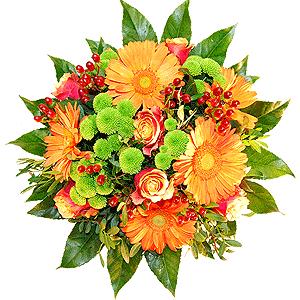 Blumenstrauss Blumenstrauß fresh & frech