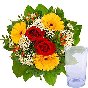 Blumenstrauss Blumenstrauß Danke, danke